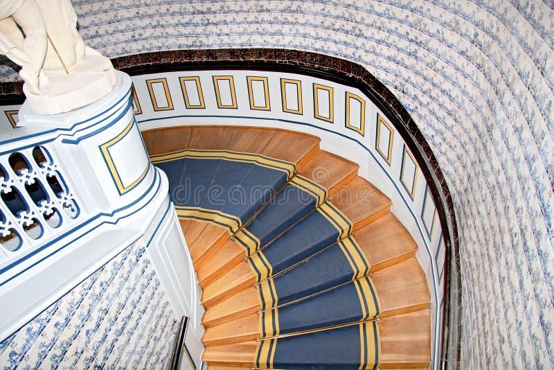 Escadas velhas. imagens de stock