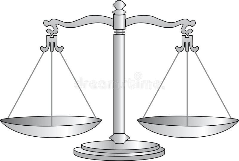 Escala ilustração royalty free