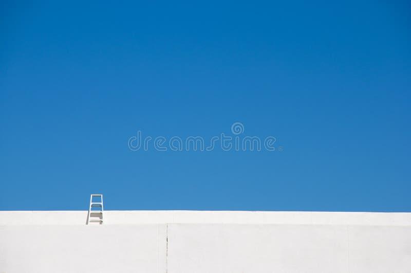 Escala al cielo imagen de archivo