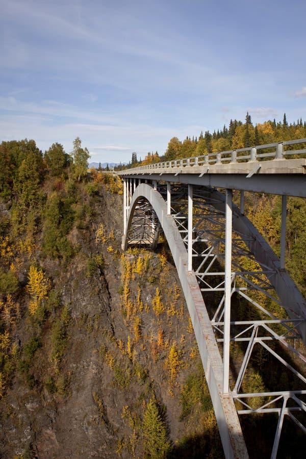 Escala de Alaska em Denali fotografia de stock royalty free