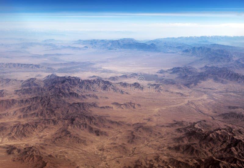 A escala de Baba Mountain do Hindu Kush entre Kabul e Kandahar em Afeganistão fotos de stock royalty free