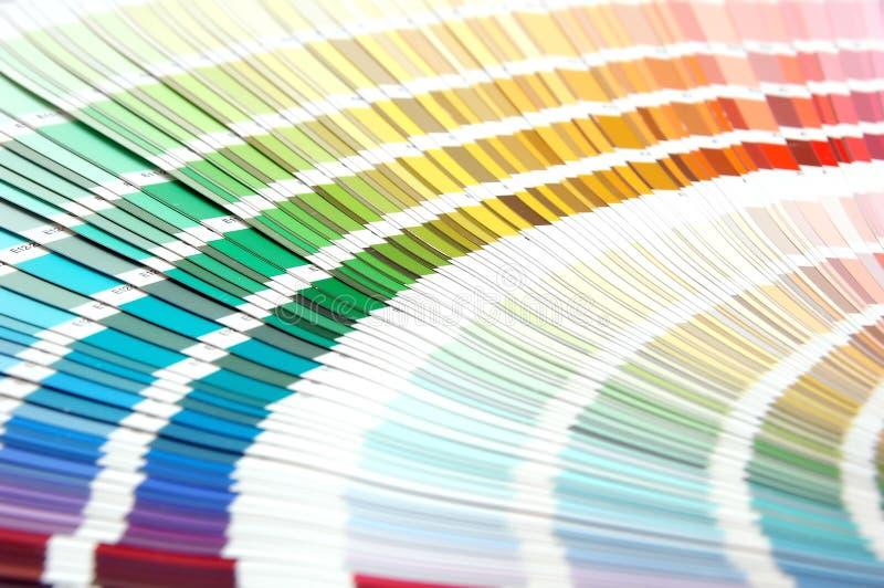 Escala de colores foto de archivo libre de regalías