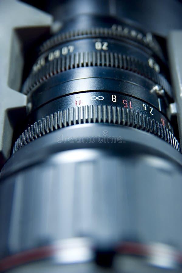 Escala de la abertura de lente foto de archivo libre de regalías