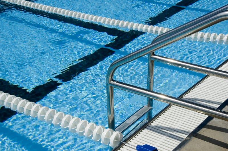 Download Escala de la piscina imagen de archivo. Imagen de agua - 1277609