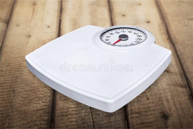 Escala del peso fotos de archivo