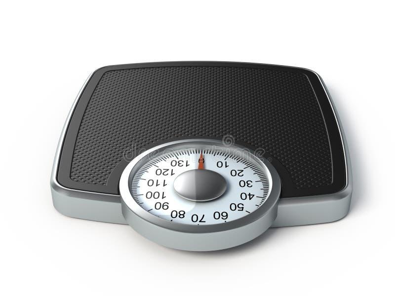 Escala del peso libre illustration