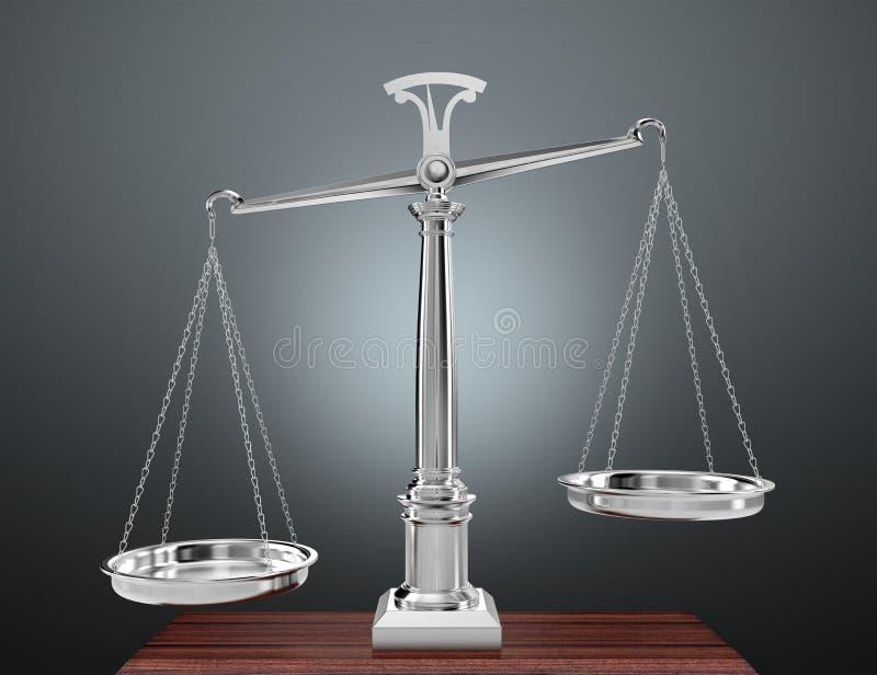 Escala do peso ilustração do vetor