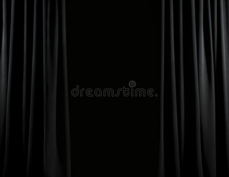 Escala negra de la etapa imágenes de archivo libres de regalías