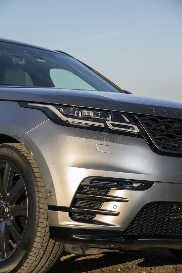 Escala Rover Velar foto de stock royalty free