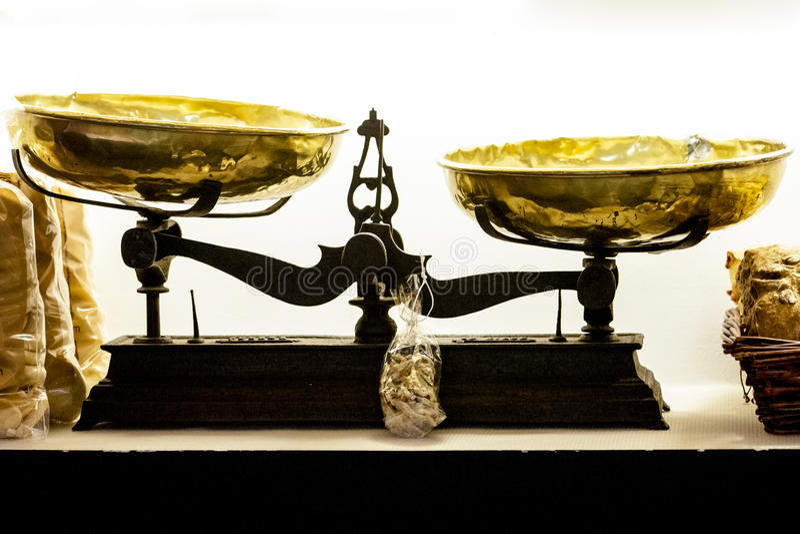 Escala velha - sujeira brilhante foto de stock royalty free