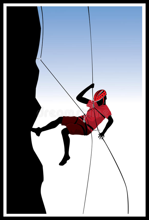 Escalada libre illustration