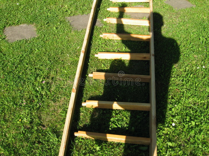 Download Escalada imagem de stock. Imagem de escalar, etapa, madeira - 50067
