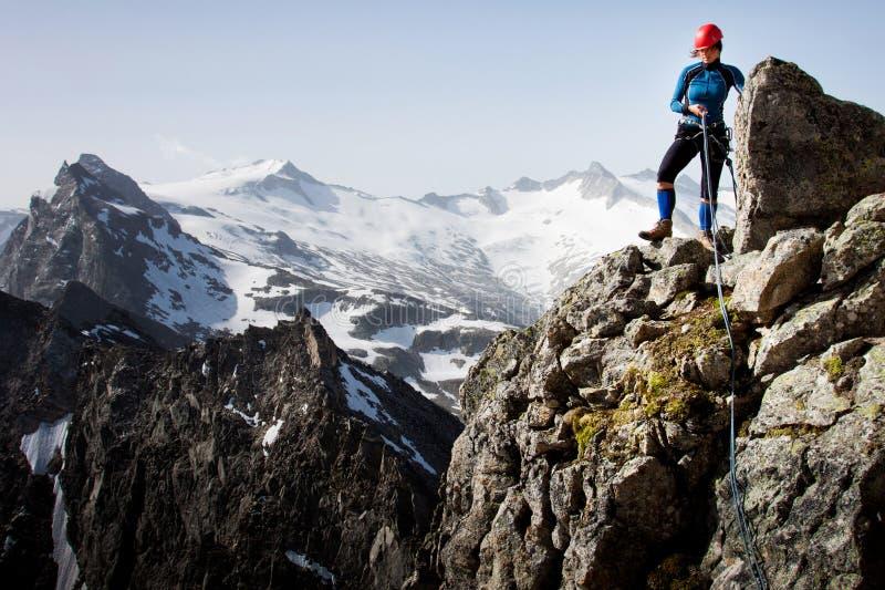 Escalada De Montanha Fotos de Stock