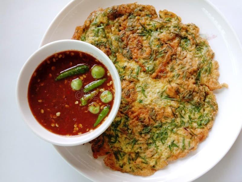 Escalar Wattle Chili Paste es un menú favorito para muchas personas y también es un menú básico fotos de archivo