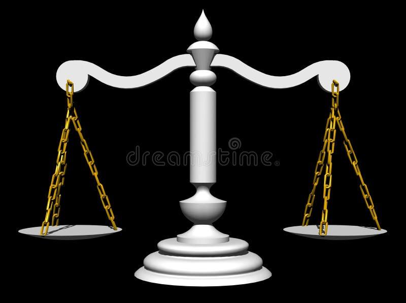 Escalas ilustração royalty free