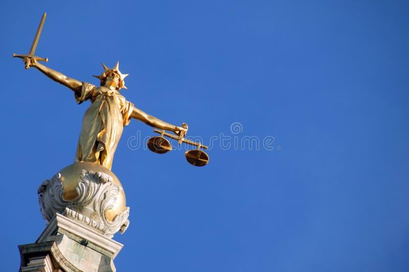 Escalas de justiça (senhora de justiça) fotos de stock