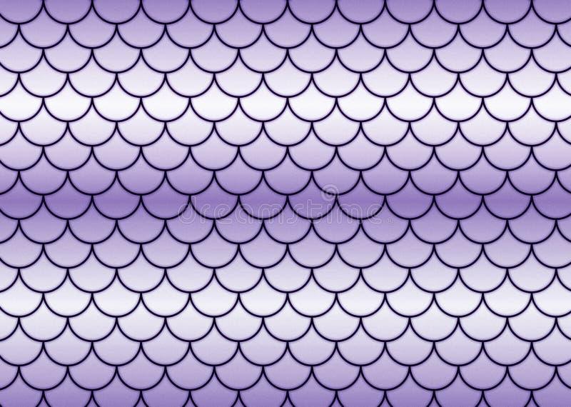 Escalas de peixes do Lilac. fotos de stock