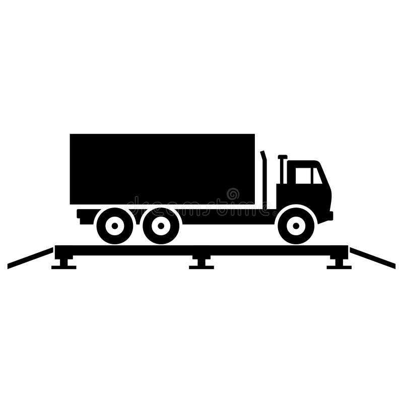 Escalas del camión libre illustration