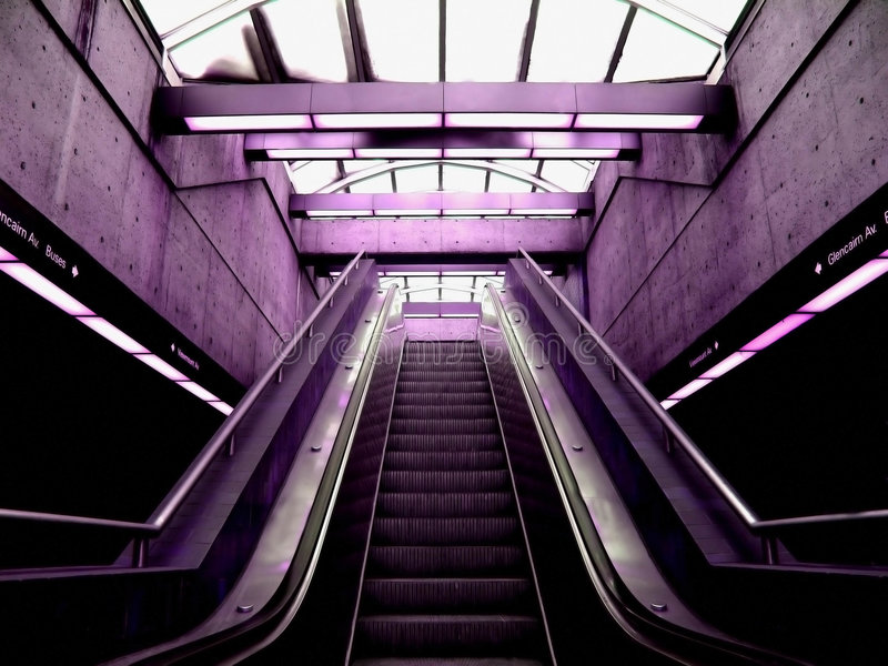 Escalate royalty free stock photography