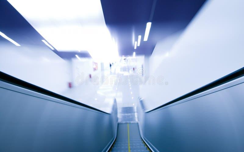 A escalator stock photo