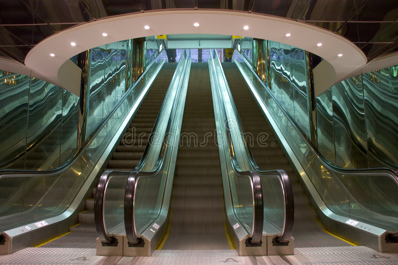 Download Escalator Royalty Free Stock Photos - Image: 1421758