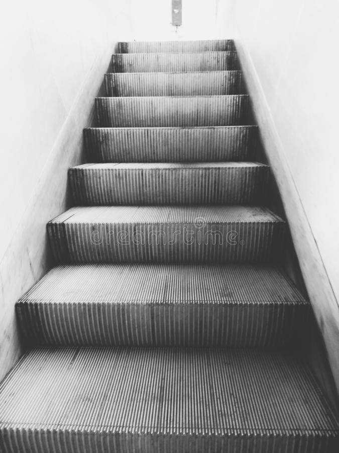 Steps by steps makes easier royalty free stock photography