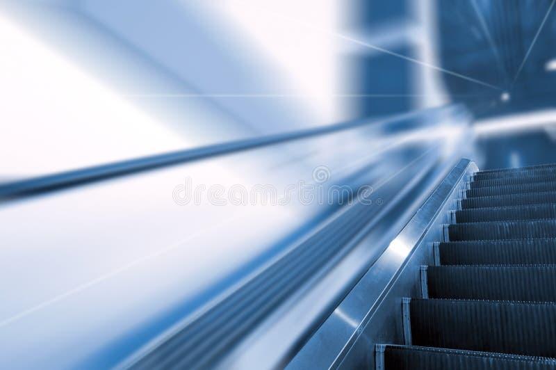 Escalator photographie stock