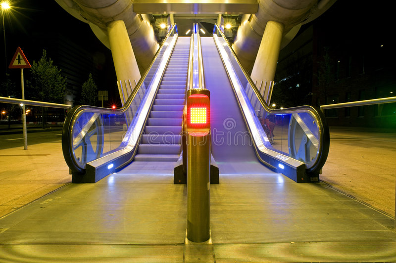 Download Escalator stock photo. Image of netherlands, staircase - 5081866