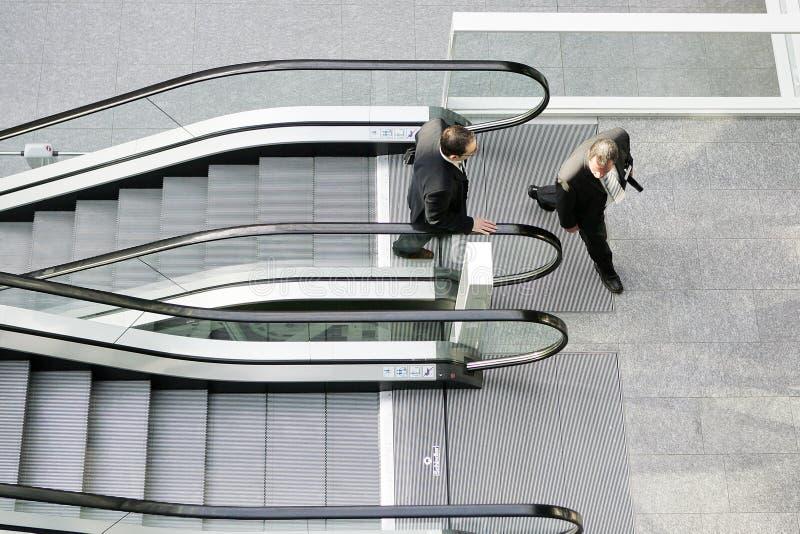 Escalator stock images