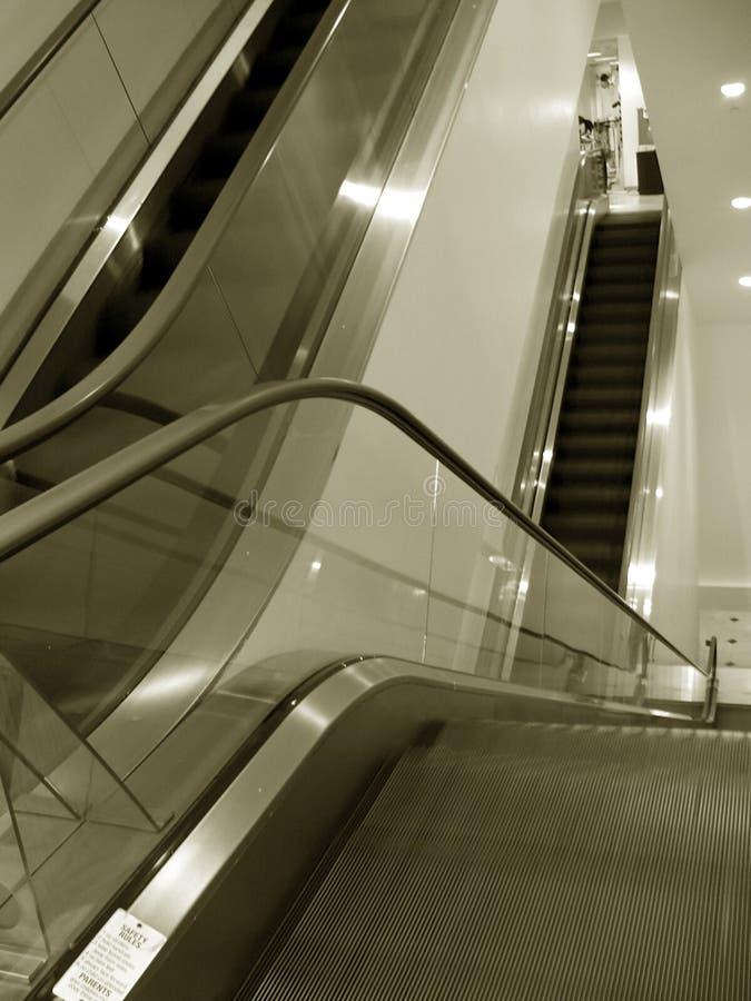 Escalator Στοκ φωτογραφία με δικαίωμα ελεύθερης χρήσης