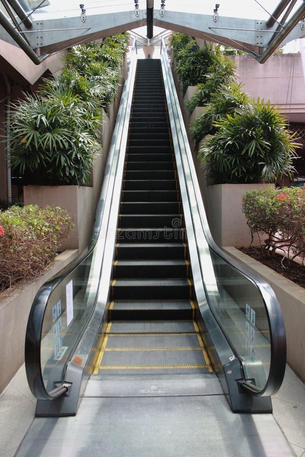 escalator d'eco amical image libre de droits