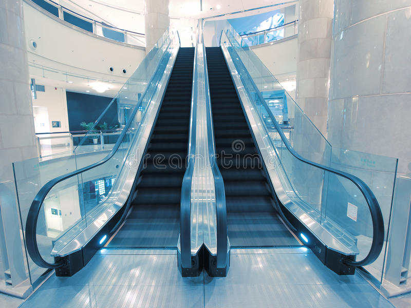 Download Escalator In Department Store Stock Images - Image: 12172554