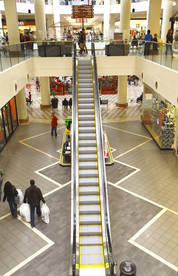 Escalator In A Mall Editorial Image