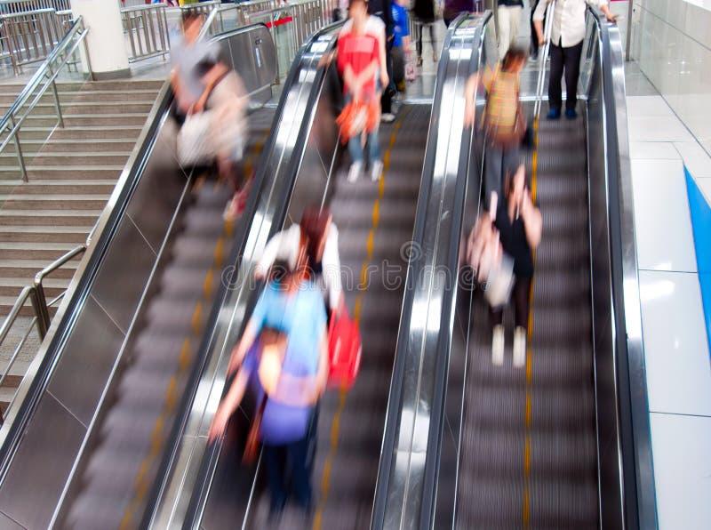 Escalator mobile photographie stock libre de droits
