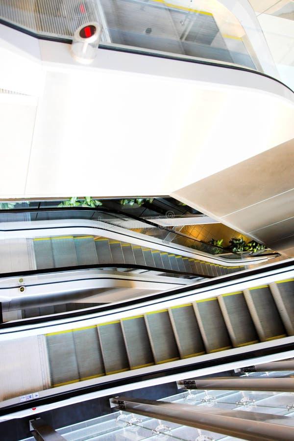 Escalator mobile image stock