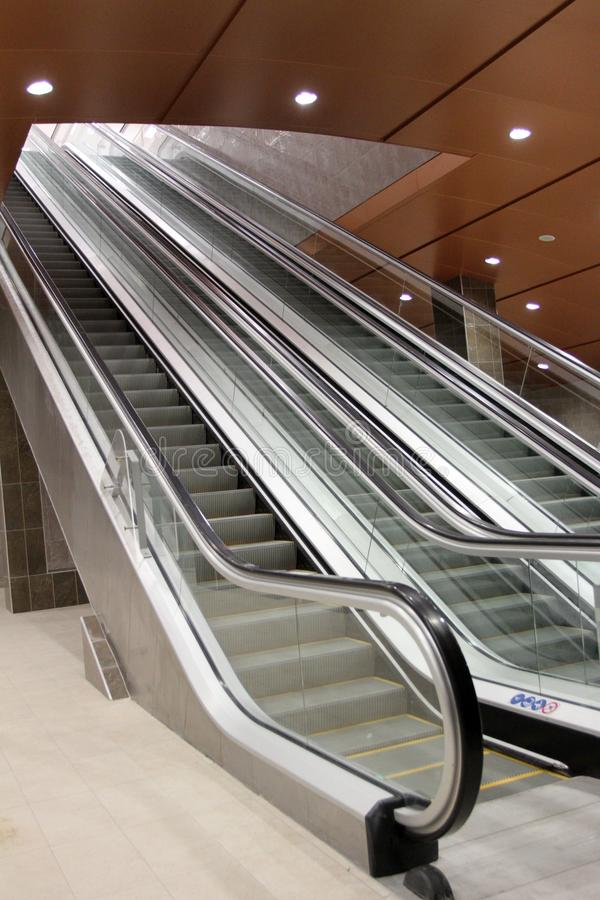 Free Escalator Or Moving Staircase Stock Image - 111084721