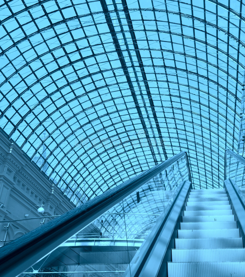 Download Escalator In A Shopping Mall Royalty Free Stock Photo - Image: 2598745