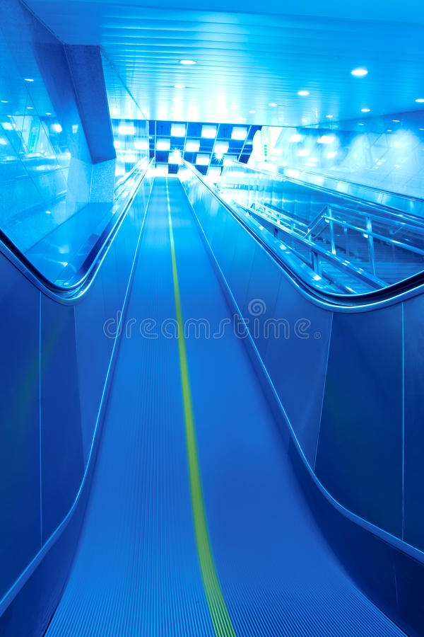 Download Escalator to exit stock photo. Image of idea, station - 18919738