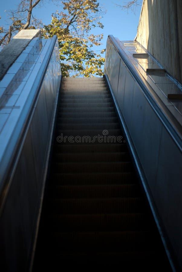 Escalator To Light Stock Images