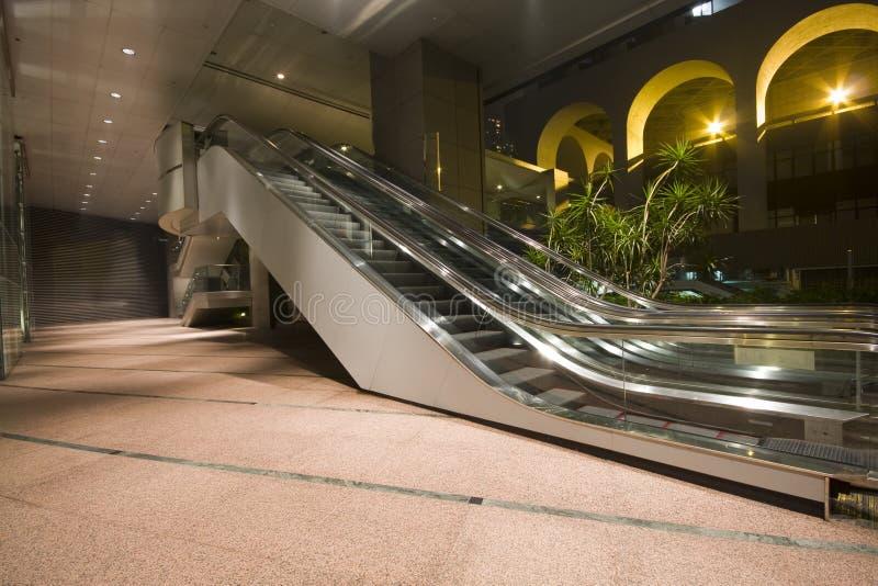 escalators στοκ φωτογραφίες