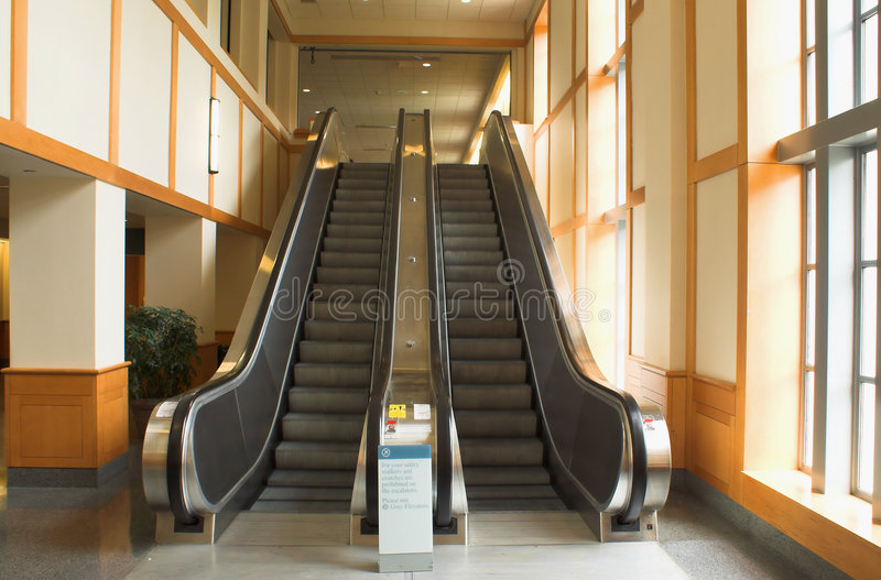 Download Escalators stock image. Image of mechanized, modern, escalator - 2158833