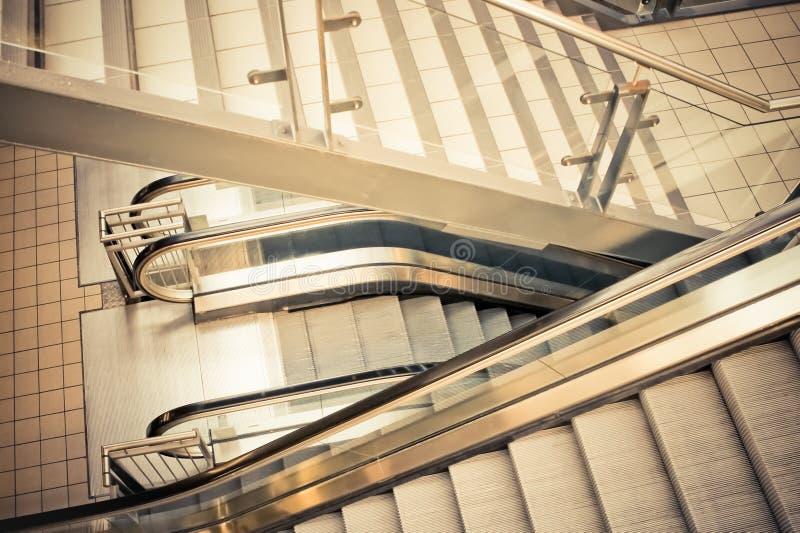 Download Escalators stock image. Image of escalator, metal, moving - 23361437