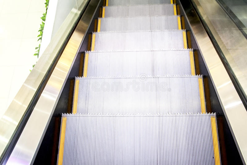 escalators fotografie stock libere da diritti