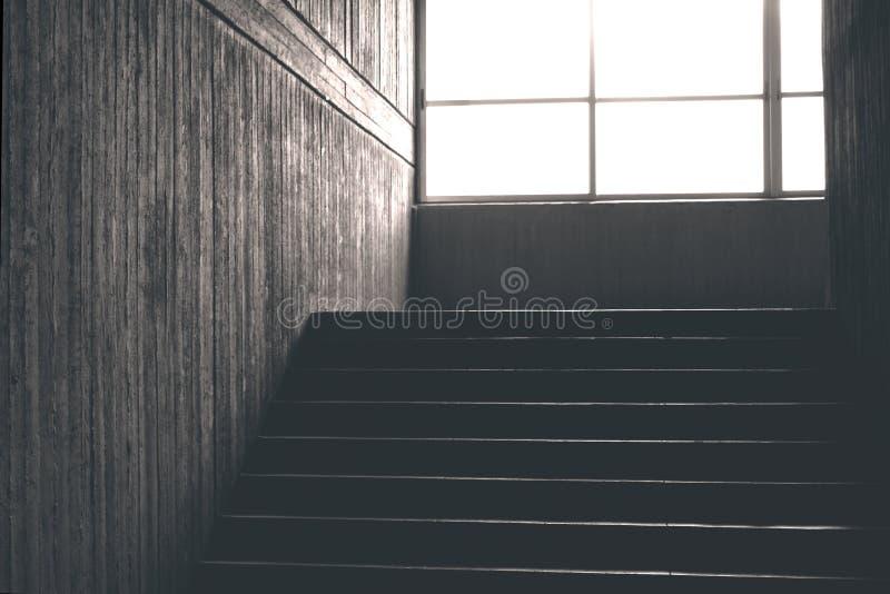 Escalera concreta imagen de archivo libre de regalías