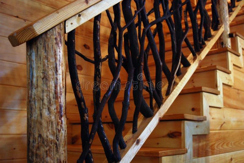 Escalera de madera r stica foto de archivo imagen de - Escaleras de madera rusticas ...