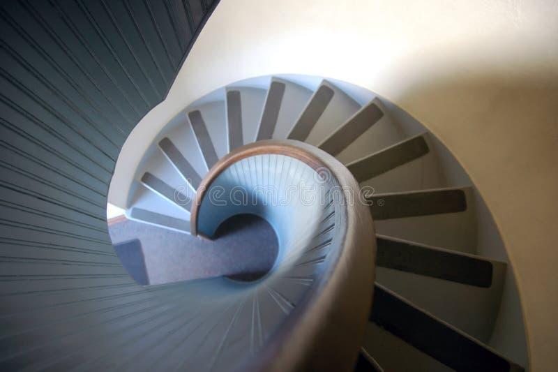 Escalera espiral imagen de archivo