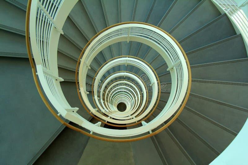 Escalera Espiral 21 Historias - Georgia Tech, Atlanta, Ga fotografía de archivo libre de regalías