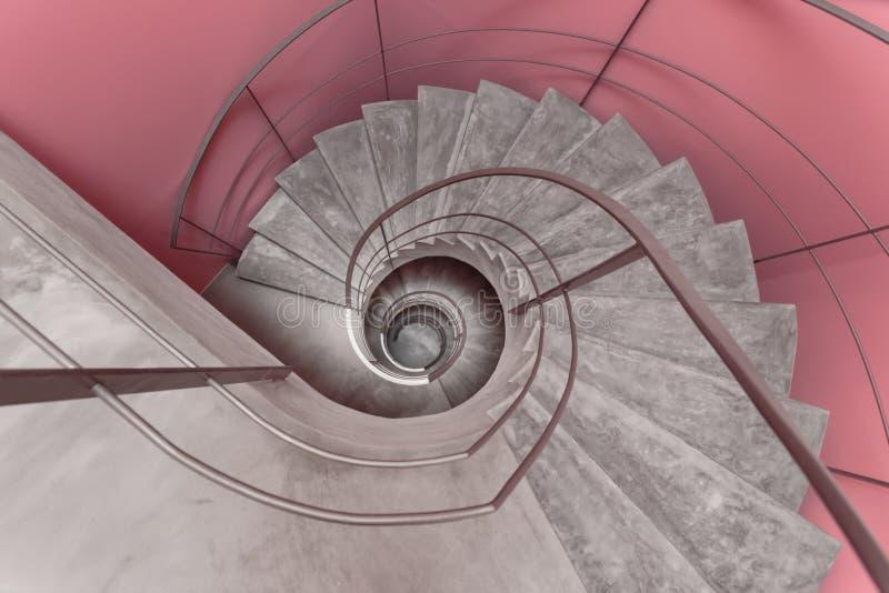 Escalera moderna foto de archivo