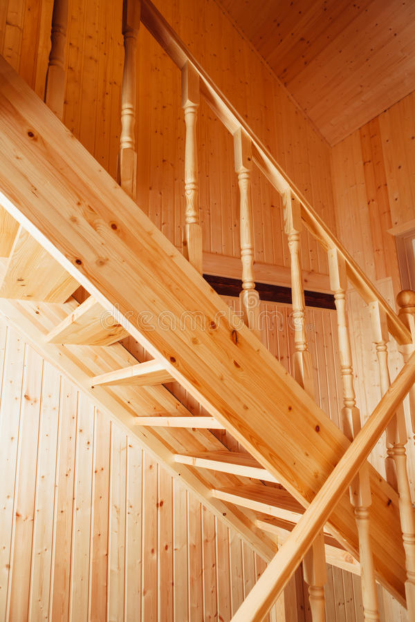 Escalera y barandillas foto de archivo