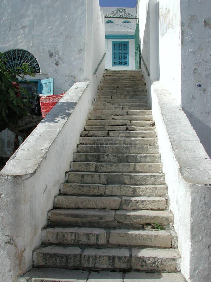 Escaleras árabes foto de archivo
